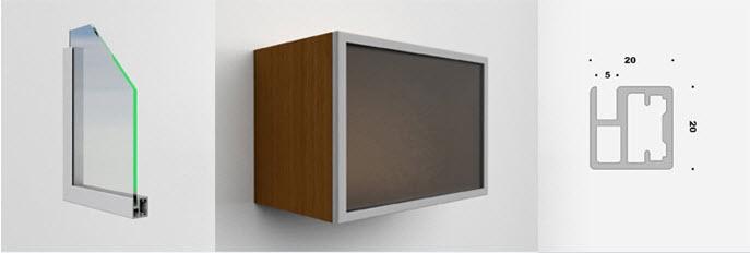 <p class=v2ikealt>Uks alumiiniumraam 20x20 kood 097</p>