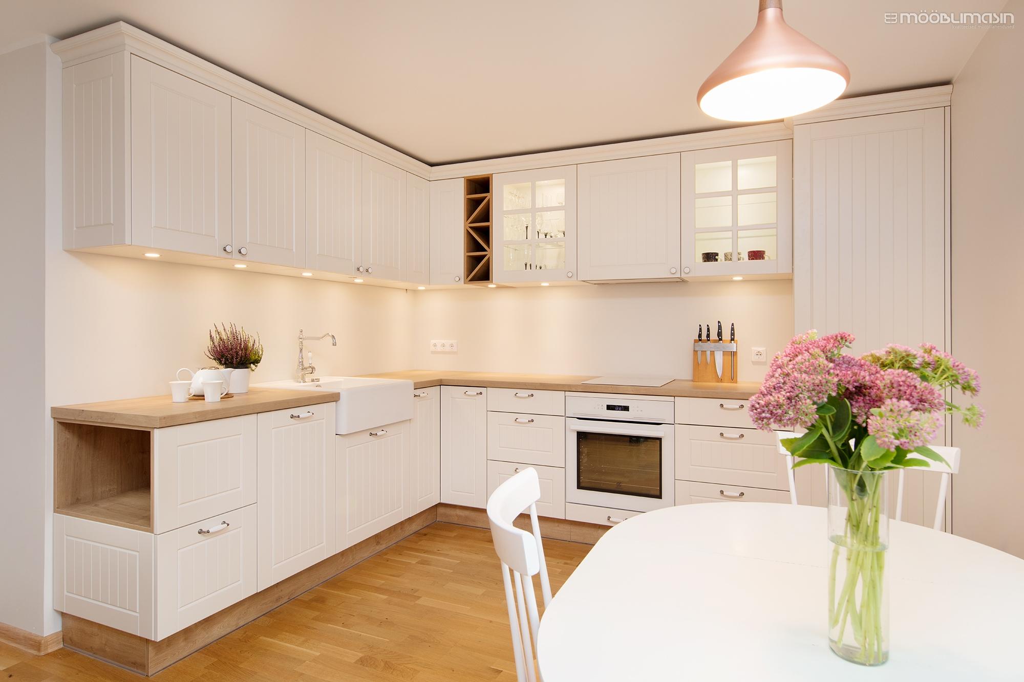 L-kujuline köögimööbel