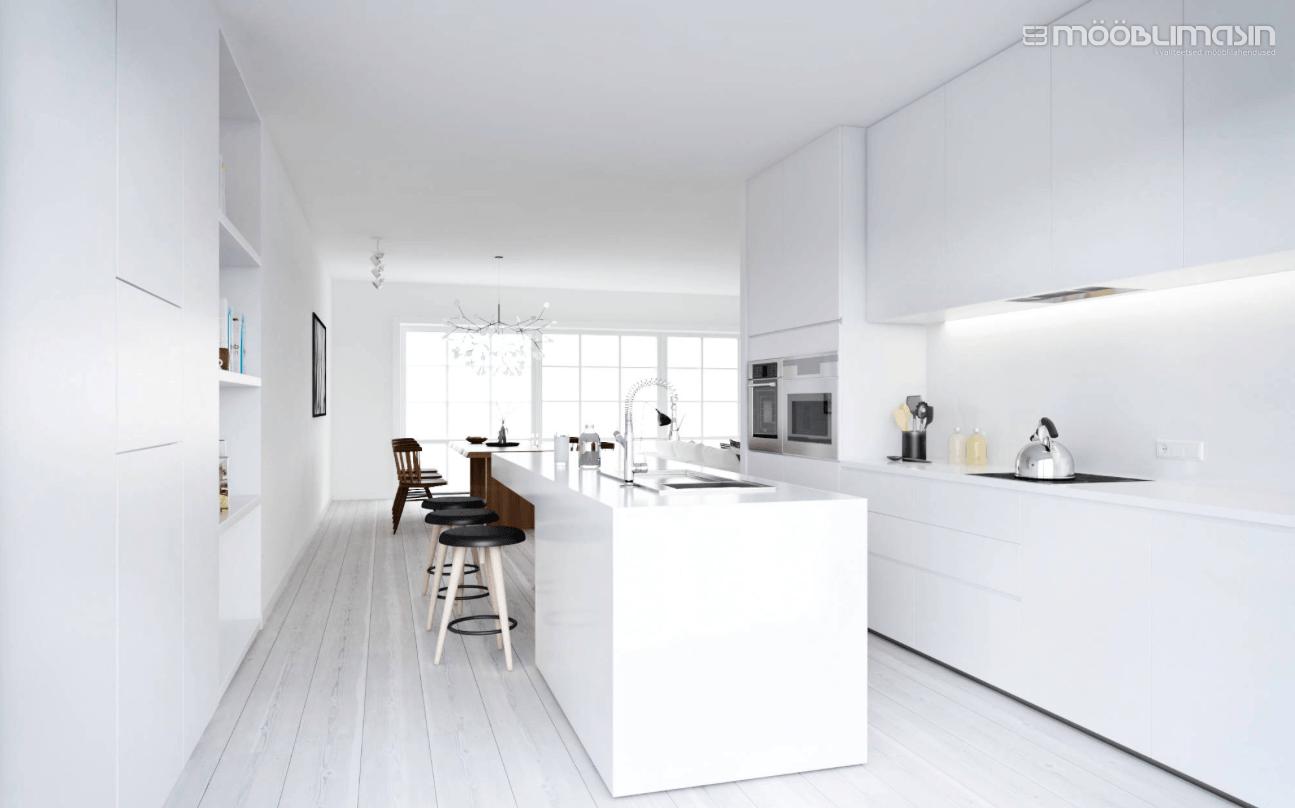 Sulle sobiva disainiga köök